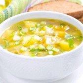 Страви пісного меню: «овочевий суп зі шпинатом»