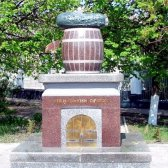 Де знаходиться пам'ятник огірку