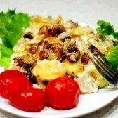 Гриби з картоплею в сметані