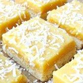 Як приготувати кокосове печиво з лимонним кремом