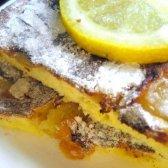 Лимонна шарлотка за 15 хвилин