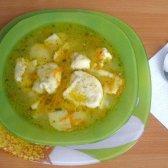 Рибний суп з галушками по-німецьки