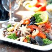 Салат з восьминогами по-кипрські
