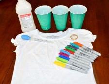 5 Способів розписати футболку