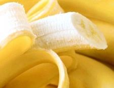 Бананове суфле