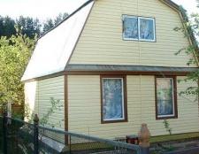 Чим краще обшити дачний літній будиночок
