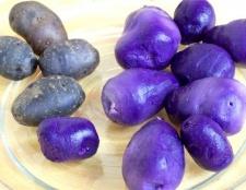 Чим корисний фіолетовий картопля