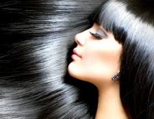Чорний колір волосся: плюси і мінуси