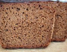 Що входить до складу тесту для бородинского хліба