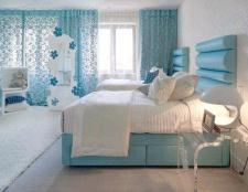 Домашній інтер'єр: колір морської хвилі