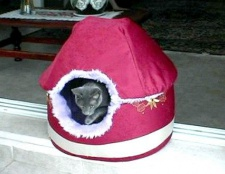 Будиночок-ліжечко для кішки