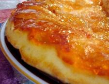 Французький пиріг з абрикосами