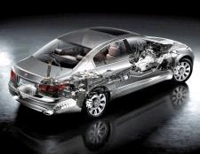 З чого складається автомобіль