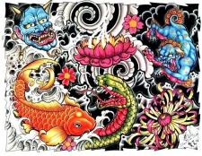 Японські татуювання та їх значення