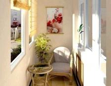 Ефективне використання балкона