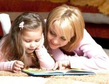 Як читати книги, щоб зміцнити пам'ять дитини