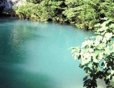 Як дістатися до блакитного озера