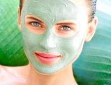 Як готувати маски із зеленої глини