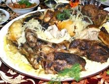 Як готується бешбармак по-казахському