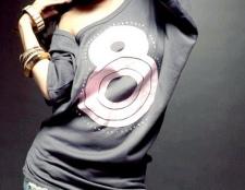 Як і з чим носити довгі жіночі футболки