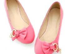 Як і з чим носити рожеві балетки