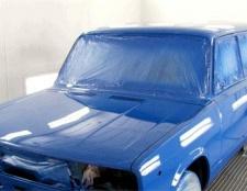 Як фарбують автомобілі
