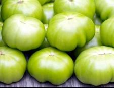 Як маринувати зелені помідори