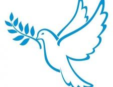 Як намалювати символ миру