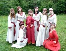 Як одягалися слов'яни