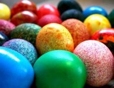 Як пофарбувати яйця в цятку і створити малюнок