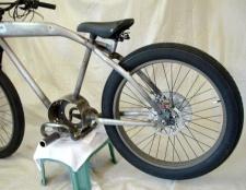 Як поміняти заднє колесо велосипеда
