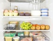 Як правильно зберігати продукти