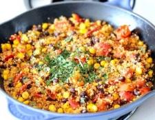 Як приготувати кіноа з овочами