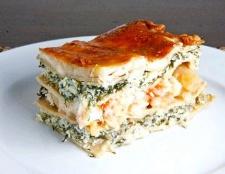 Як приготувати лазанью з морепродуктами