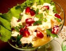 Як приготувати легкий салат з куркою