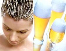 Як приготувати маску для волосся з пива
