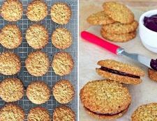 Як приготувати печиво з вівсяними пластівцями і шоколадом
