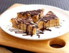 Як приготувати тістечка з шоколадним ганаш