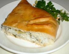 Як приготувати рибний пиріг з рисом