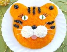 Як приготувати салат «тигр»