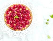 Як приготувати тарталетки з лимонним кремом і малиною