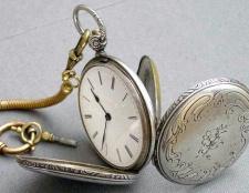 Як продати старовинні кишенькові годинники