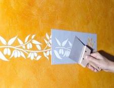 Як самому зробити трафарет для фарбування стін