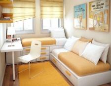 Як зробити дизайн інтер'єру для маленької кімнати