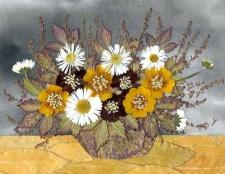 Як зробити картину або панно із сухих квітів та листя