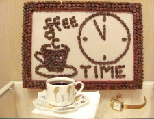 Як зробити картину з кавових зерен своїми руками