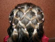 Як зробити зачіску з хвостиків