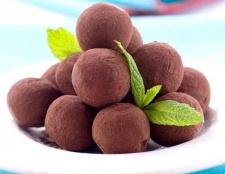 Як зробити шоколадні трюфелі