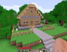 Як зробити в майнкрафт красивий будинок