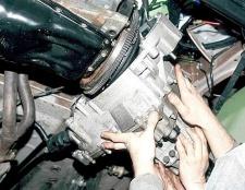 Як зняти коробку передач з ваз-2110